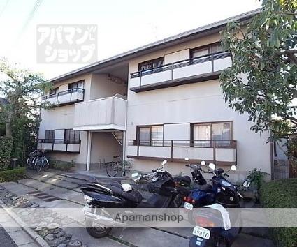 京都府京都市北区、円町駅徒歩18分の築26年 2階建の賃貸アパート