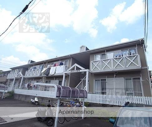 京都府京都市北区、円町駅徒歩21分の築27年 2階建の賃貸アパート