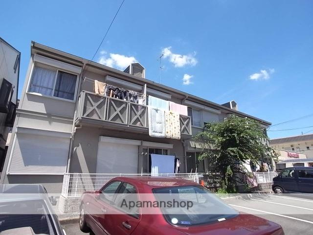京都府京都市北区、円町駅徒歩12分の築27年 2階建の賃貸アパート