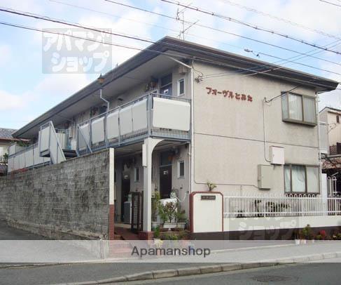 京都府京都市北区、円町駅徒歩8分の築35年 2階建の賃貸アパート