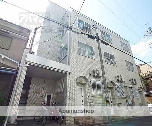 京都府京都市北区、円町駅徒歩10分の築27年 3階建の賃貸マンション