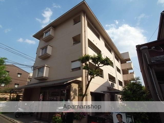 京都府京都市北区、円町駅徒歩12分の築31年 4階建の賃貸マンション