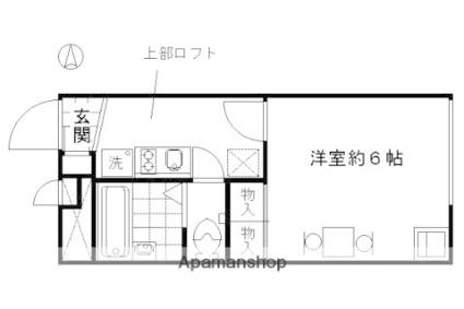 レオパレスMizusawa[1K/19.87m2]の間取図