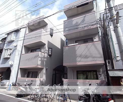 京都府京都市上京区、北大路駅徒歩14分の築24年 3階建の賃貸マンション