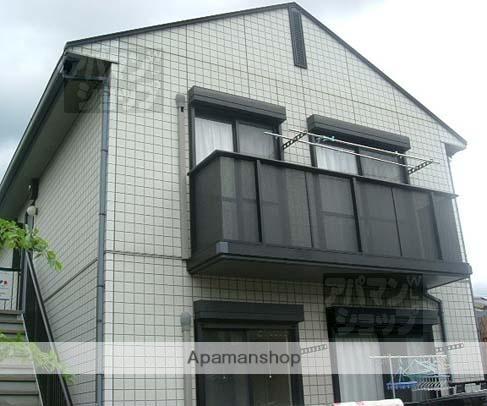 京都府京都市北区、円町駅徒歩19分の築19年 2階建の賃貸アパート