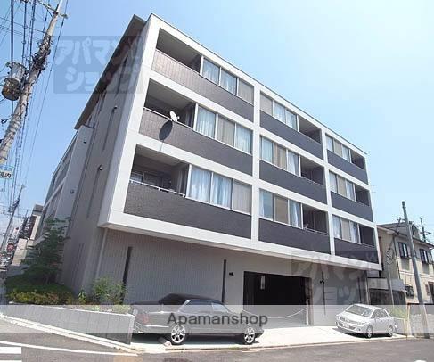 京都府京都市北区、龍安寺駅徒歩20分の築9年 4階建の賃貸マンション