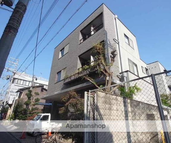 京都府京都市中京区、円町駅徒歩3分の築19年 3階建の賃貸マンション