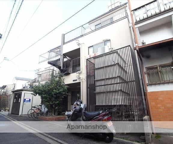 京都府京都市左京区、出町柳駅徒歩15分の築28年 3階建の賃貸アパート