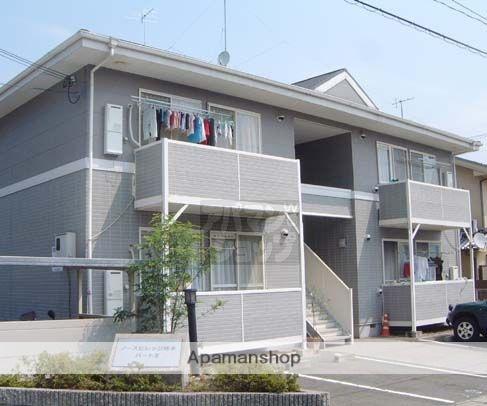 京都府京都市北区、二軒茶屋駅徒歩36分の築20年 2階建の賃貸アパート