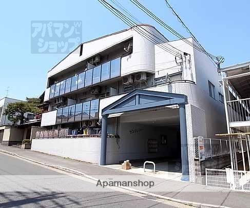 京都府京都市北区、二軒茶屋駅徒歩35分の築27年 3階建の賃貸マンション