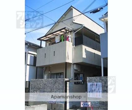 京都府京都市北区、二軒茶屋駅徒歩40分の築23年 2階建の賃貸アパート