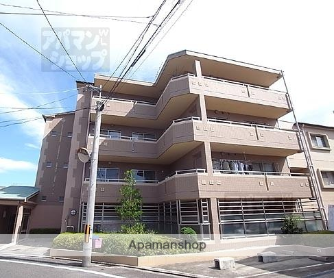 京都府京都市北区、円町駅徒歩30分の築17年 5階建の賃貸マンション