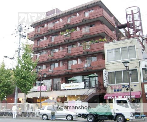 京都府京都市左京区、三条駅徒歩17分の築36年 6階建の賃貸マンション