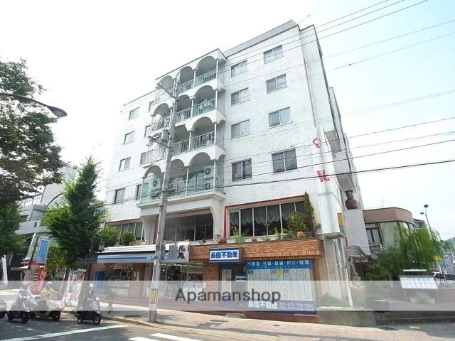 京都府京都市北区、松ヶ崎駅徒歩14分の築44年 6階建の賃貸マンション