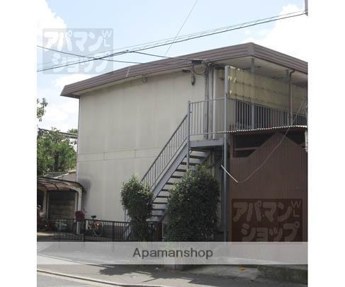 京都府京都市北区、二軒茶屋駅徒歩39分の築38年 2階建の賃貸アパート