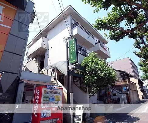 京都府京都市北区、北大路駅徒歩21分の築35年 4階建の賃貸マンション