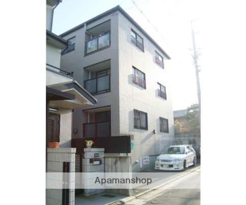 京都府京都市北区、北大路駅徒歩10分の築34年 3階建の賃貸マンション