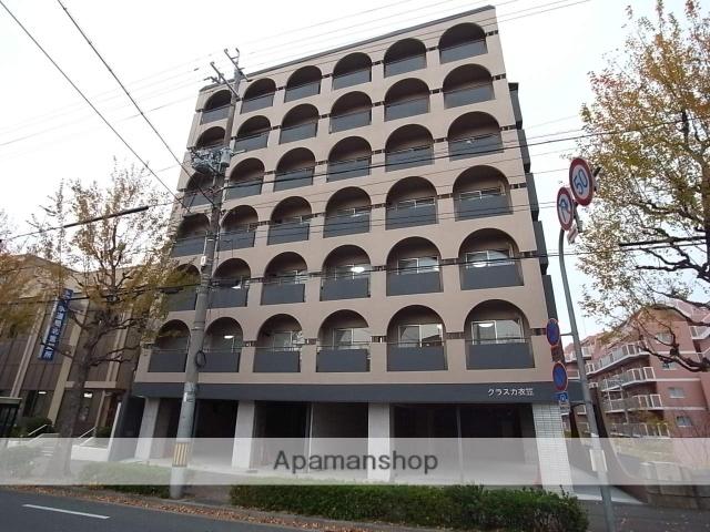京都府京都市北区、北大路駅徒歩27分の築45年 7階建の賃貸マンション