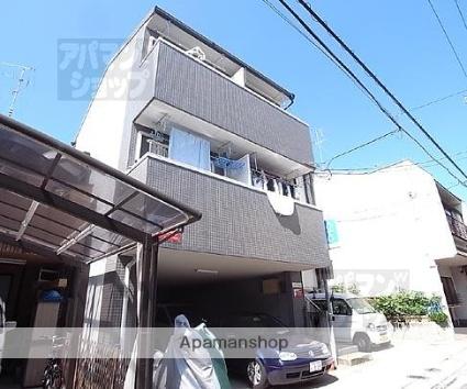 京都府京都市北区、等持院駅徒歩26分の築21年 3階建の賃貸マンション