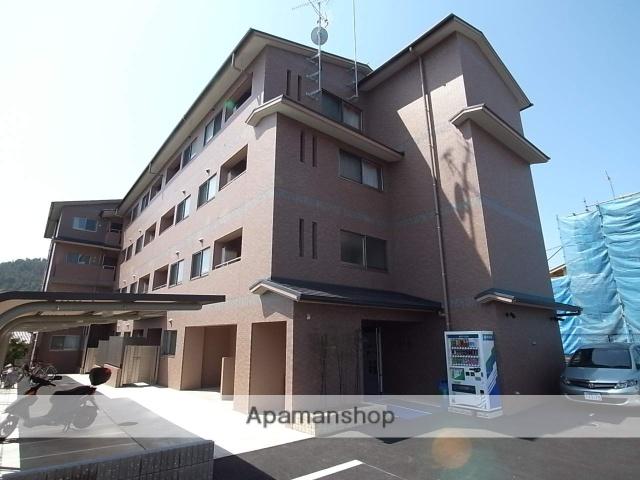 京都府京都市北区、北山駅徒歩45分の築4年 4階建の賃貸マンション