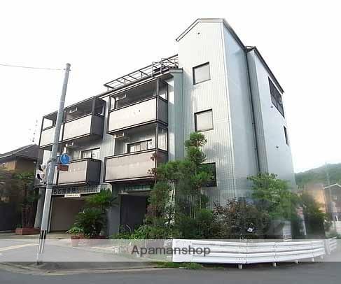 京都府京都市北区、二軒茶屋駅徒歩30分の築24年 4階建の賃貸マンション