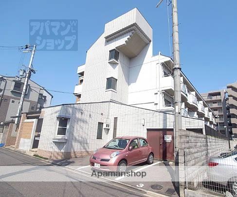 京都府京都市北区、等持院駅徒歩20分の築28年 3階建の賃貸マンション