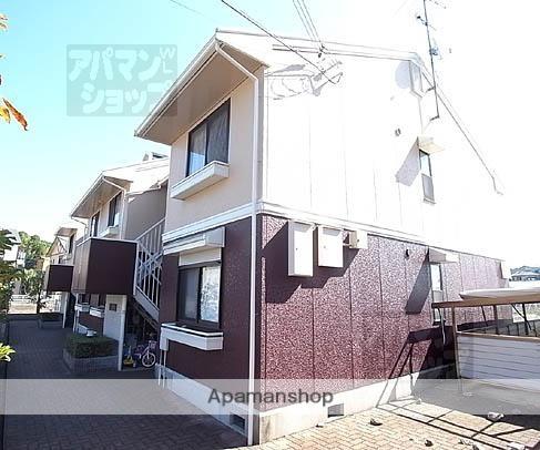 京都府京都市北区、二軒茶屋駅徒歩38分の築24年 2階建の賃貸アパート