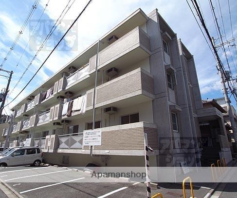京都府京都市北区、北大路駅徒歩32分の築23年 3階建の賃貸マンション