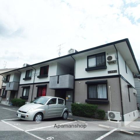 京都府京都市北区、二軒茶屋駅徒歩39分の築19年 2階建の賃貸アパート