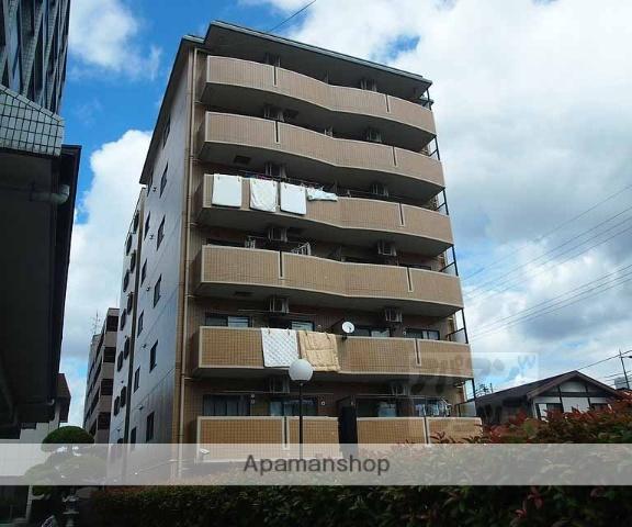 京都府京都市南区、西大路駅徒歩25分の築22年 7階建の賃貸マンション