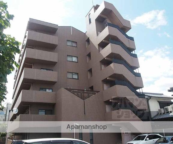 京都府京都市南区、東寺駅徒歩18分の築21年 6階建の賃貸マンション