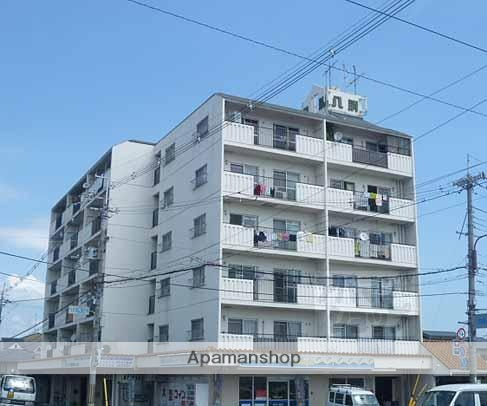 京都府京都市南区、西大路駅徒歩24分の築35年 6階建の賃貸マンション