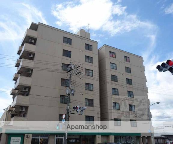 京都府京都市南区、上鳥羽口駅徒歩14分の築28年 7階建の賃貸マンション