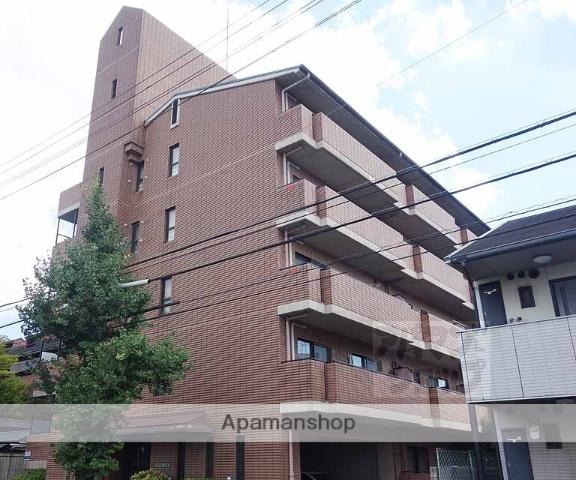 京都府京都市南区、京都駅徒歩19分の築23年 5階建の賃貸マンション