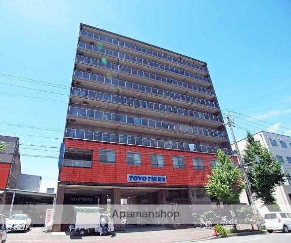 京都府京都市伏見区、十条駅徒歩11分の築21年 9階建の賃貸マンション
