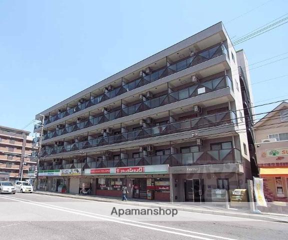 京都府京都市伏見区、伏見稲荷駅徒歩11分の築23年 5階建の賃貸マンション