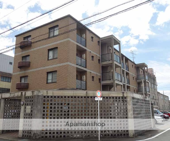 京都府京都市南区、上鳥羽口駅徒歩14分の築19年 4階建の賃貸マンション