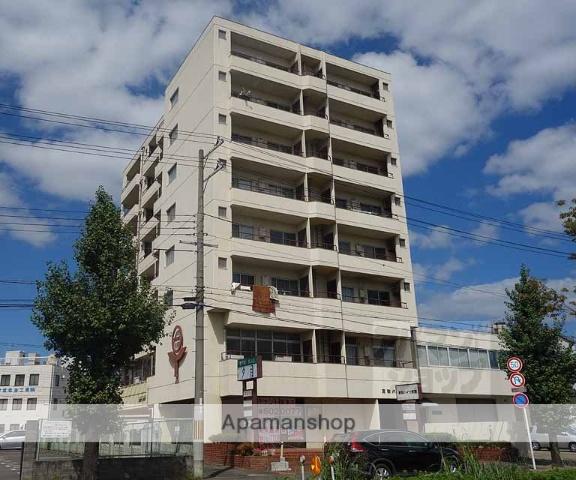 京都府京都市南区、京都駅徒歩20分の築36年 10階建の賃貸マンション