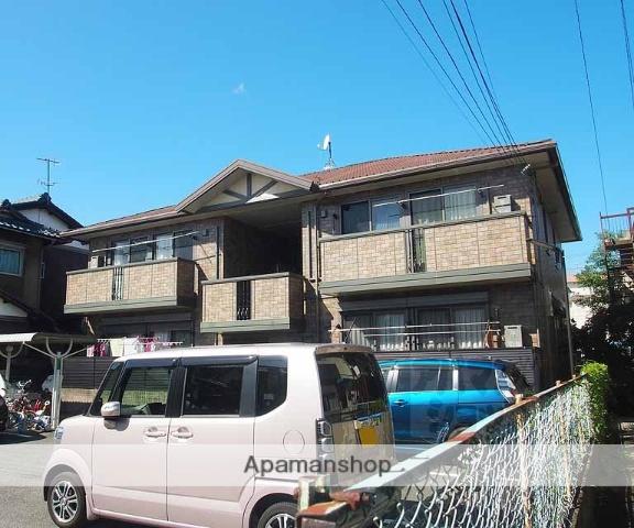 京都府京都市南区、上鳥羽口駅徒歩13分の築11年 2階建の賃貸アパート