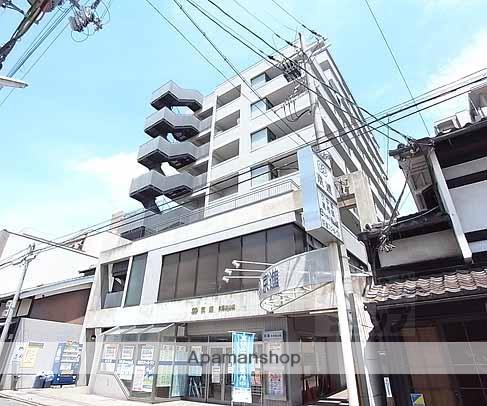 京都府京都市伏見区、桃山駅徒歩9分の築27年 11階建の賃貸マンション