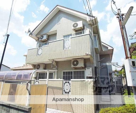 京都府京都市伏見区、JR藤森駅徒歩7分の築23年 2階建の賃貸アパート