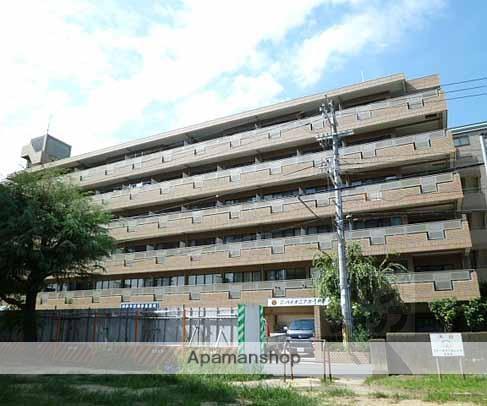 京都府京都市南区、十条駅徒歩15分の築25年 6階建の賃貸マンション