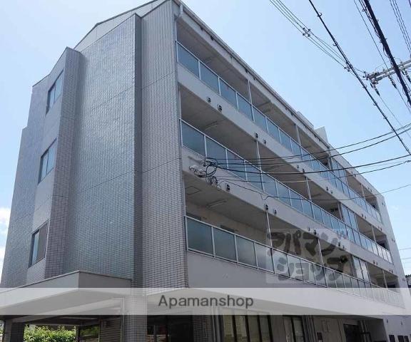 京都府京都市南区、十条駅徒歩3分の築27年 4階建の賃貸マンション