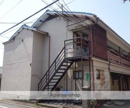 京都府京都市南区、十条駅徒歩11分の築54年 2階建の賃貸アパート