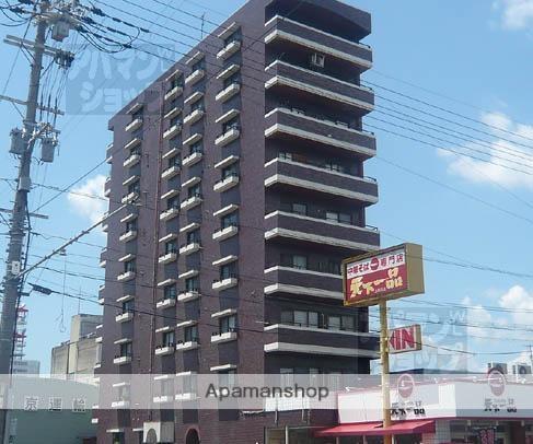 京都府京都市南区、十条駅徒歩23分の築33年 9階建の賃貸マンション