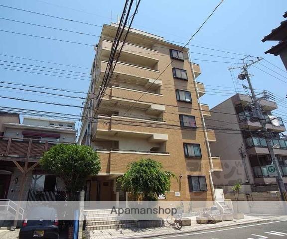 京都府京都市伏見区、近鉄丹波橋駅徒歩13分の築25年 6階建の賃貸マンション