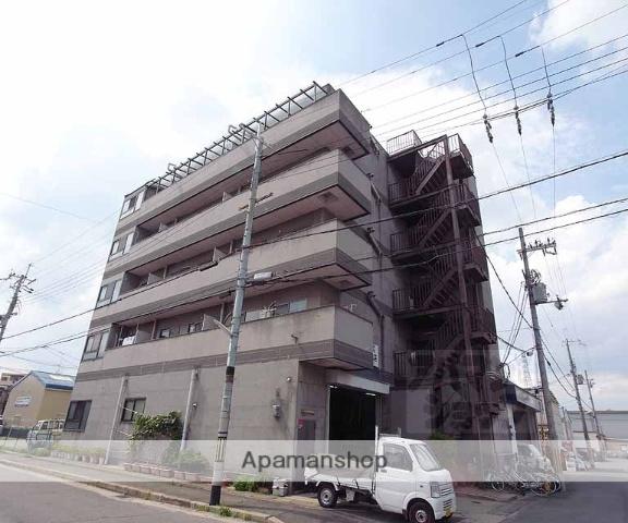 京都府京都市伏見区、桃山御陵前駅徒歩30分の築23年 5階建の賃貸マンション