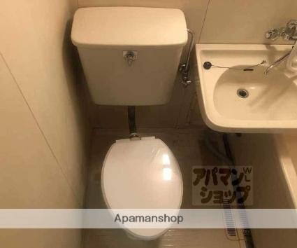 ハイツワタナベⅡ[1DK/19.61m2]のトイレ