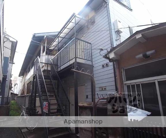 京都府京都市右京区、花園駅徒歩3分の築24年 2階建の賃貸アパート