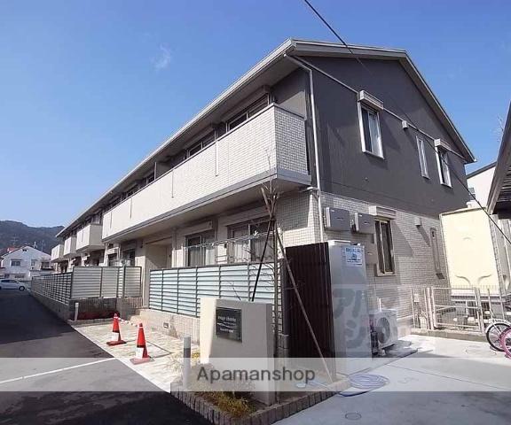 京都府京都市右京区、松尾大社駅徒歩14分の築4年 2階建の賃貸アパート